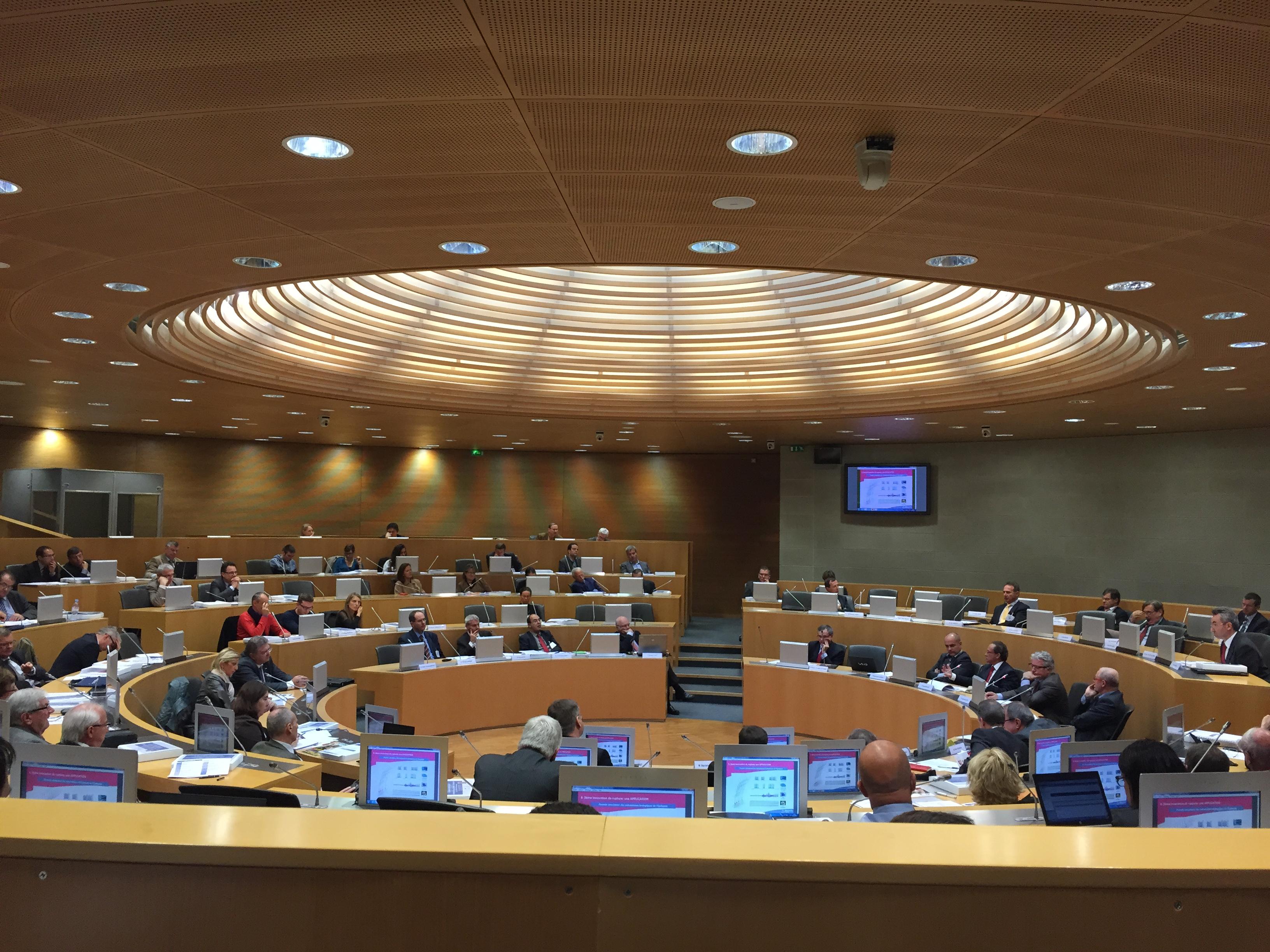 Sixth Forum Économique du Comité Alsace  with the Conseillers du Commerce Extèrieur Français on November the 4th 2014.